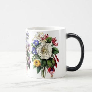 Vintage Floral Morphing Mug
