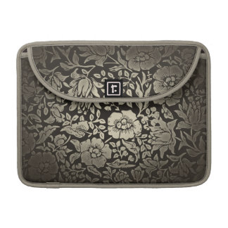 vintage floral ornaments sleeve for MacBook pro
