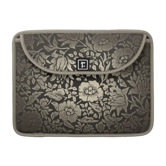 vintage floral ornaments sleeves for MacBooks