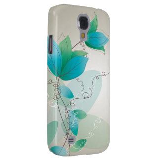 Vintage Floral Pattern Galaxy S4 Case