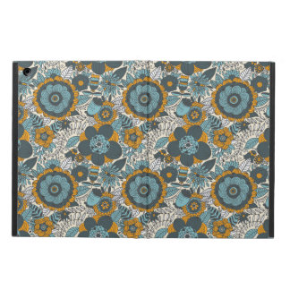 Vintage floral pattern iPad air cover