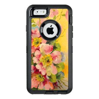 Vintage Floral Pattern OtterBox iPhone 6/6s Case