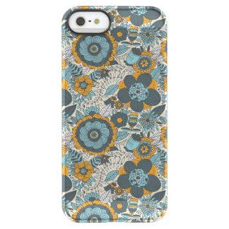 Vintage floral pattern permafrost® iPhone SE/5/5s case