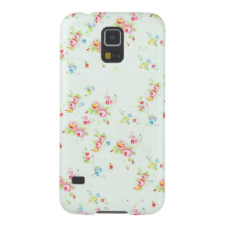 Vintage floral pattern roses pink shabby rose chic galaxy s5 cases