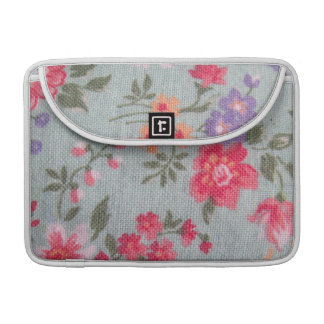 Vintage Floral Pattern Sleeve For MacBook Pro