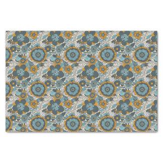 Vintage floral pattern tissue paper