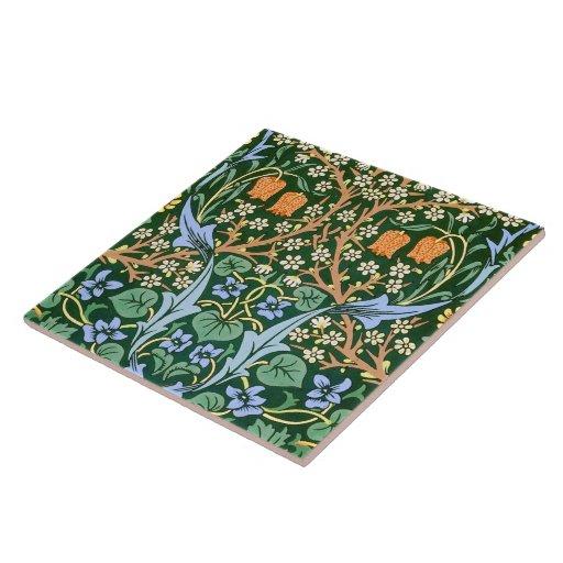 Vintage Floral Pattern William Morris Ceramic Tiles