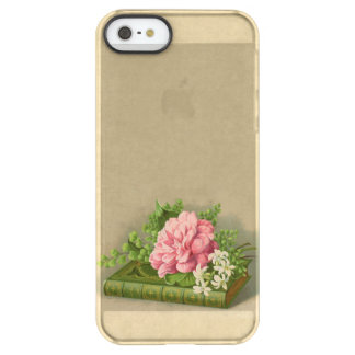 Vintage Floral Peony Classy Book Elegant Permafrost® iPhone SE/5/5s Case