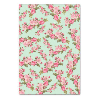 floral tissue paper