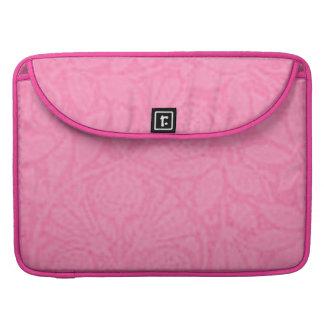 Vintage Floral Pink Macbook Pro Flap Sleeve Sleeves For MacBooks