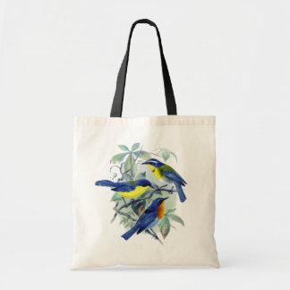 Vintage Floral Songbirds Apparel and Gifts Bag