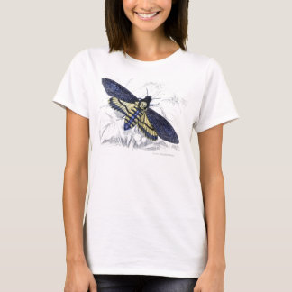 Vintage Floral Spooky Death's Head Hawkmoth T-Shirt