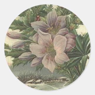 Vintage Floral sticker