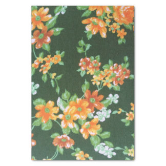 Vintage Floral Tissue Paper