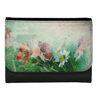 Vintage Floral Wallets For Women