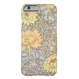 Vintage Floral Wallpaper Chrysanthemums Barely There iPhone 6 Case