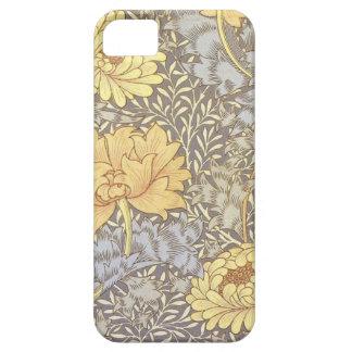 Vintage Floral Wallpaper Chrysanthemums iPhone 5 Case