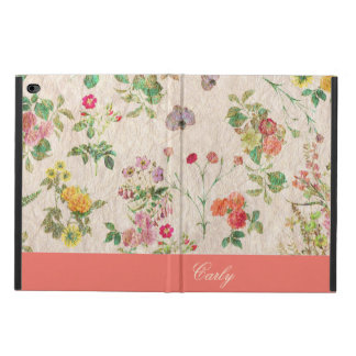 Vintage Floral Wallpaper Custom iPad Air 2 Case