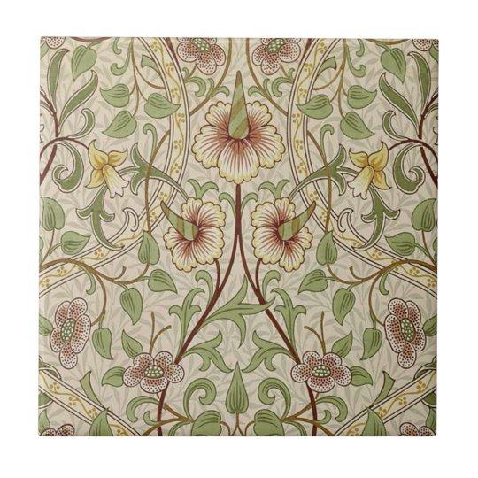 Vintage Floral Wallpaper Design