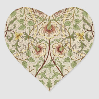 Vintage Floral Wallpaper Design - Daffodil Stickers