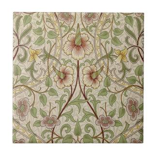 Vintage Floral Wallpaper Design - Daffodil Tile