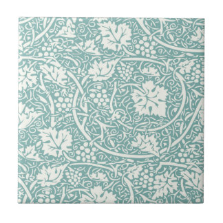 Vintage Floral Wallpaper Grape Pattern Tile