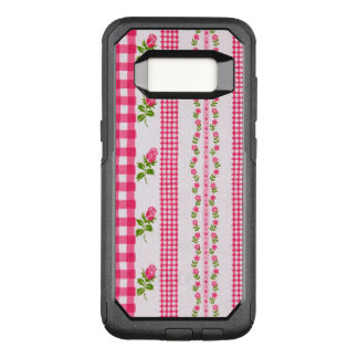 Vintage Floral Wallpaper OtterBox Commuter Samsung Galaxy S8 Case