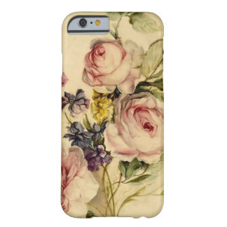 Vintage Florals from 18th Century Barely There iPhone 6 Case