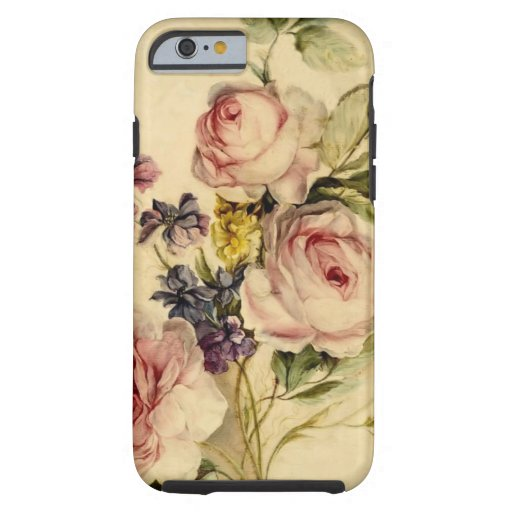 Vintage Florals from 18th Century iPhone 6 Case