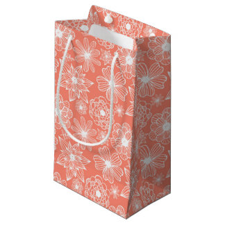 Vintage Florals Small Gift Bag