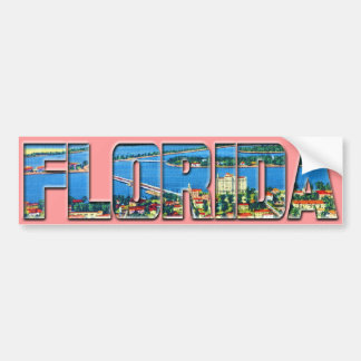 Vintage Florida Bumper Sticker
