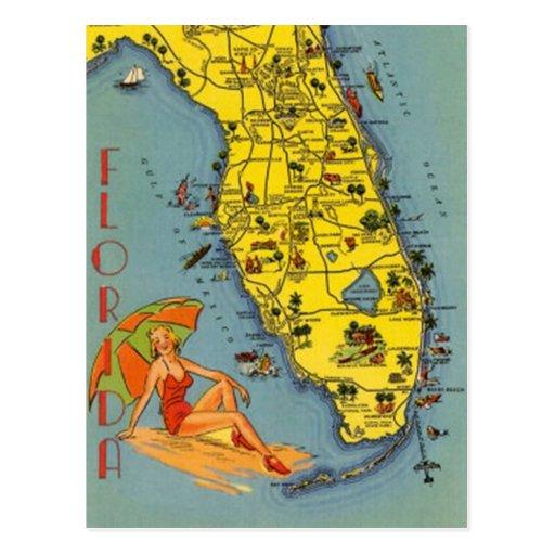 Vintage Florida, USA - Postcards