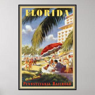 Vintage Florida, USA - Poster