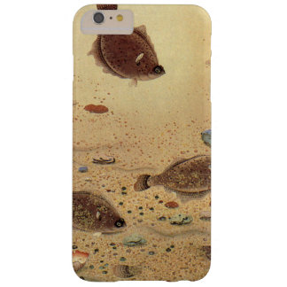 Vintage Flounders, Marine Ocean Life Flat Fish Barely There iPhone 6 Plus Case