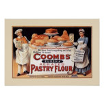 Vintage Flour Advertising Poster