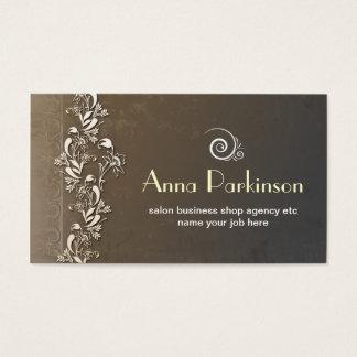vintage flourishes stylish business cards