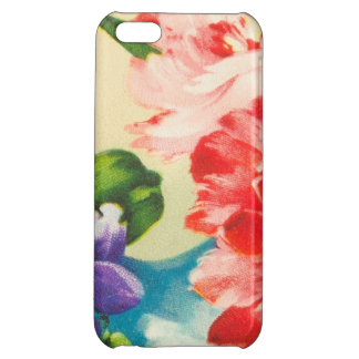 Vintage Flower Bouquet On Beige iPhone 5C Covers
