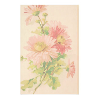 Vintage Flower Bouquet Stationery