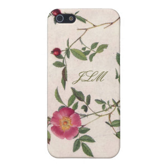 vintage flower girly white floral iPhone 5 Case
