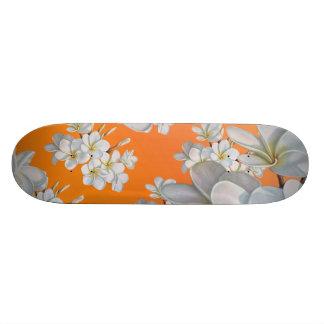 Vintage Flower Skateboard Deck