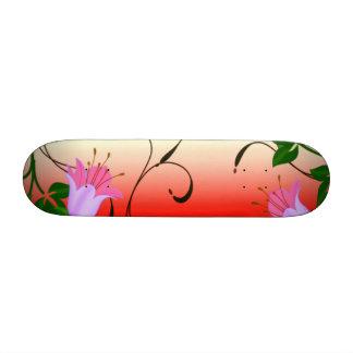 Vintage Flower Custom Skateboard