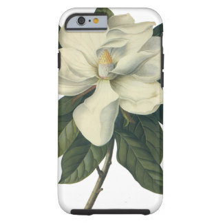 Vintage Flowers, Blooming White Magnolia Blossom Tough iPhone 6 Case