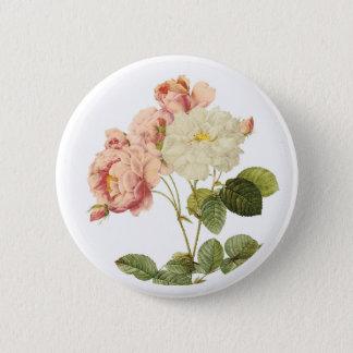 Vintage Flowers button 2