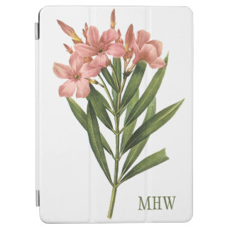 Vintage Flowers custom monogram device covers 3 iPad Air Cover