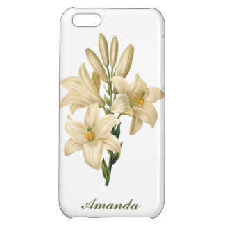 Vintage Flowers custom monogram phone cases 1 B
