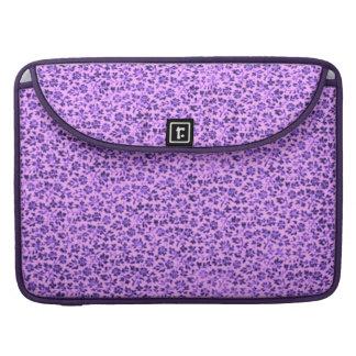 Vintage Flowers Lavender Macbook Pro Flap Sleeve MacBook Pro Sleeves
