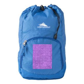 Vintage Flowers Lavender Purple Backpack