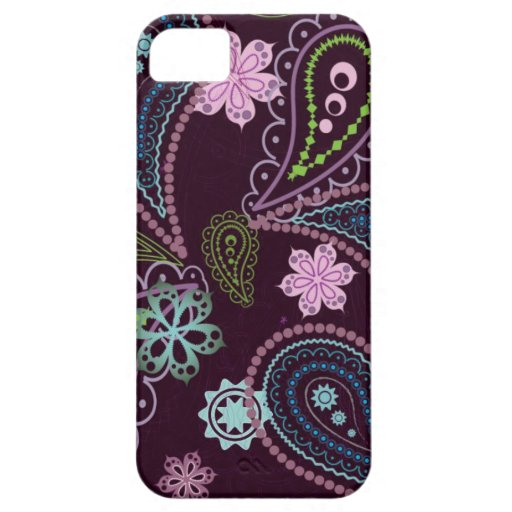 vintage flowers multicoloured iPhone 5/5S case