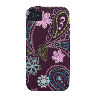 vintage flowers multicoloured iPhone 4/4S covers