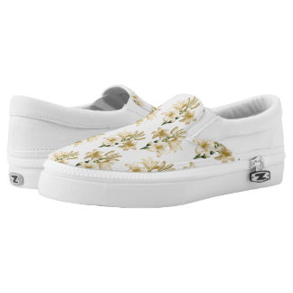 Vintage Flowers slip-on shoes 1